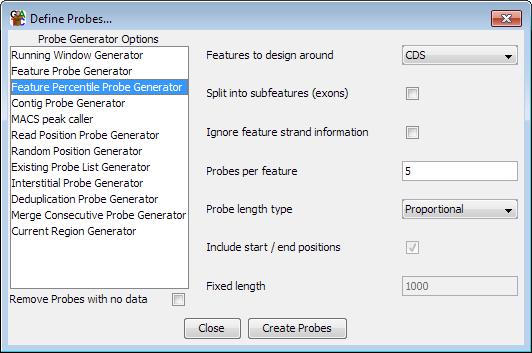 The Feature Percentile Probe Generator
